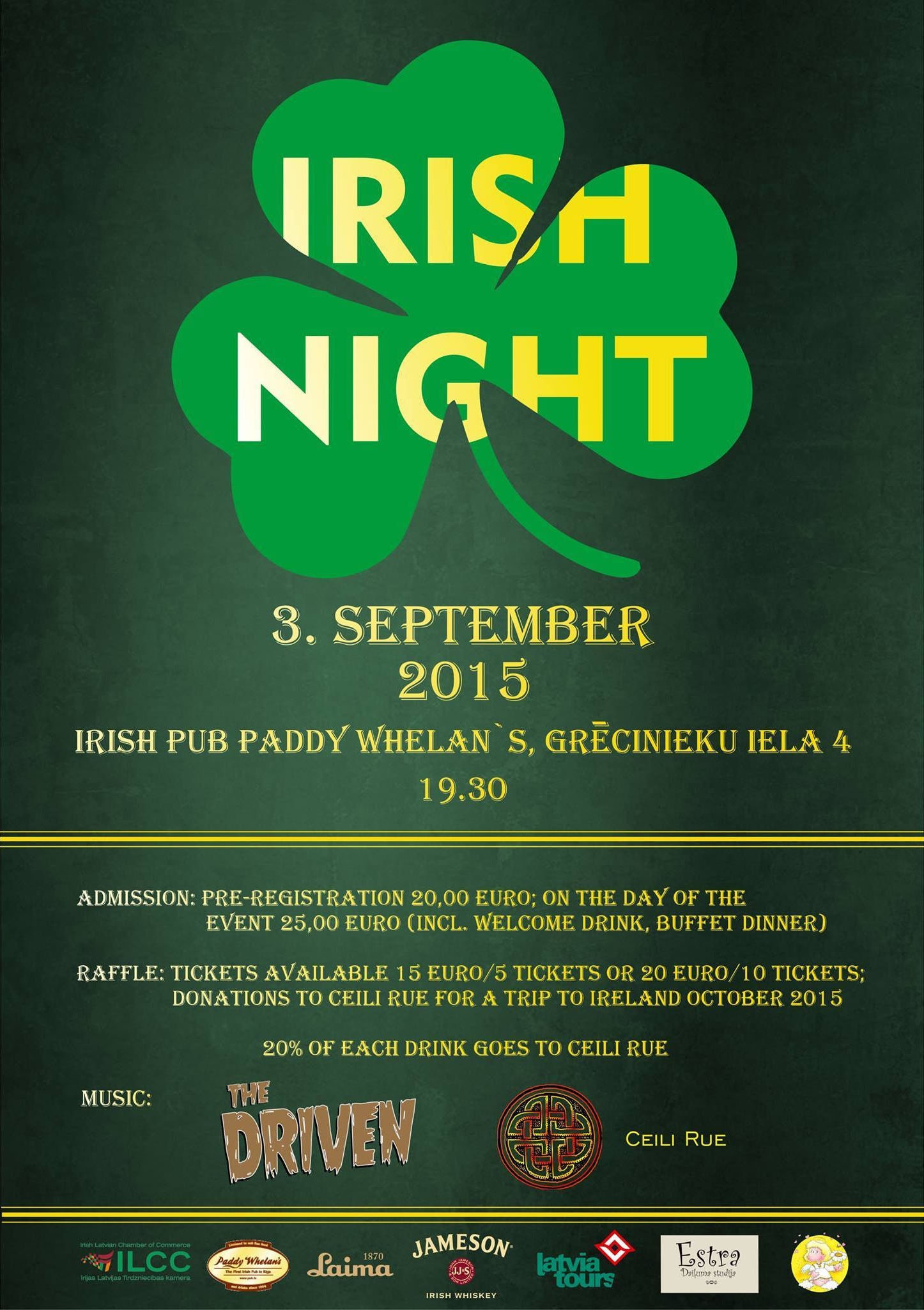 Irish Night at Paddy Whelan's