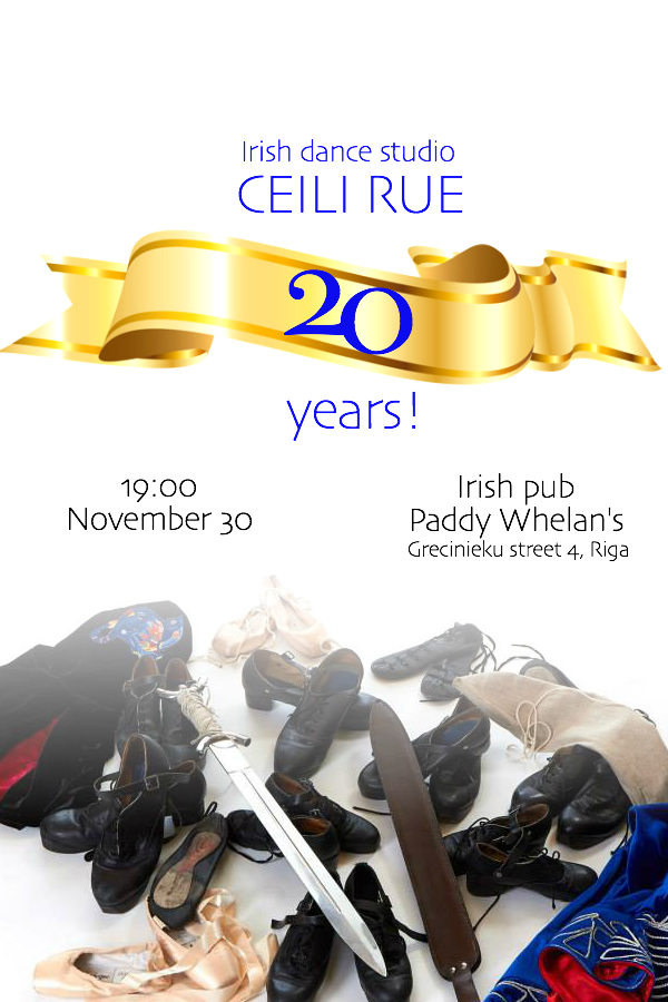 CEILI RUE 20th anniversary
