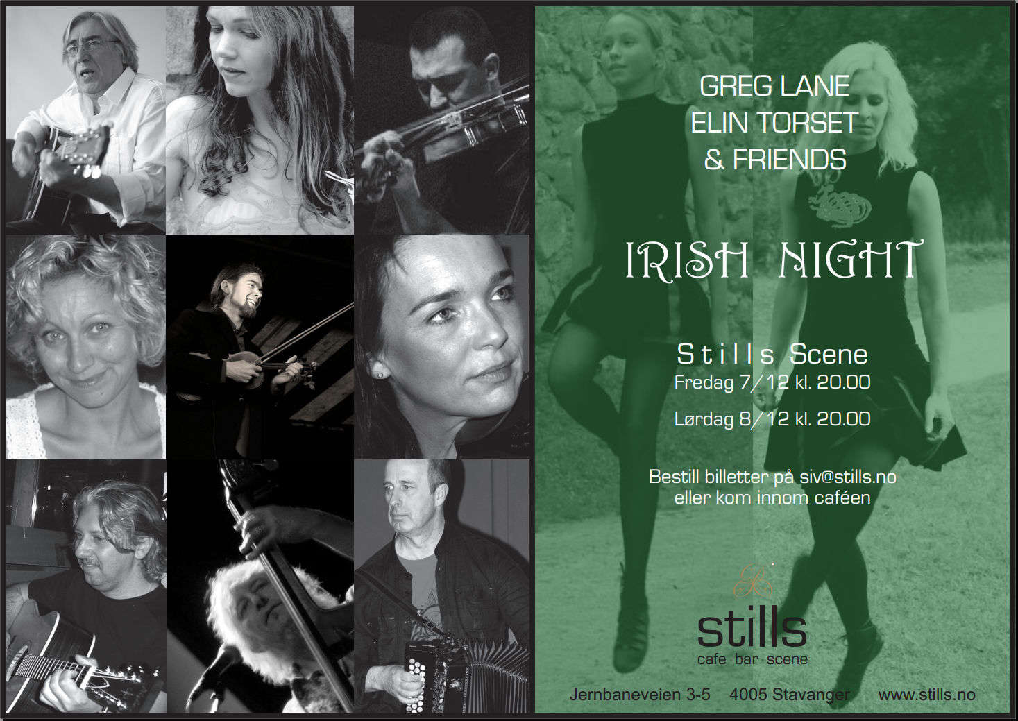 An Irish Night in Stavanger poster